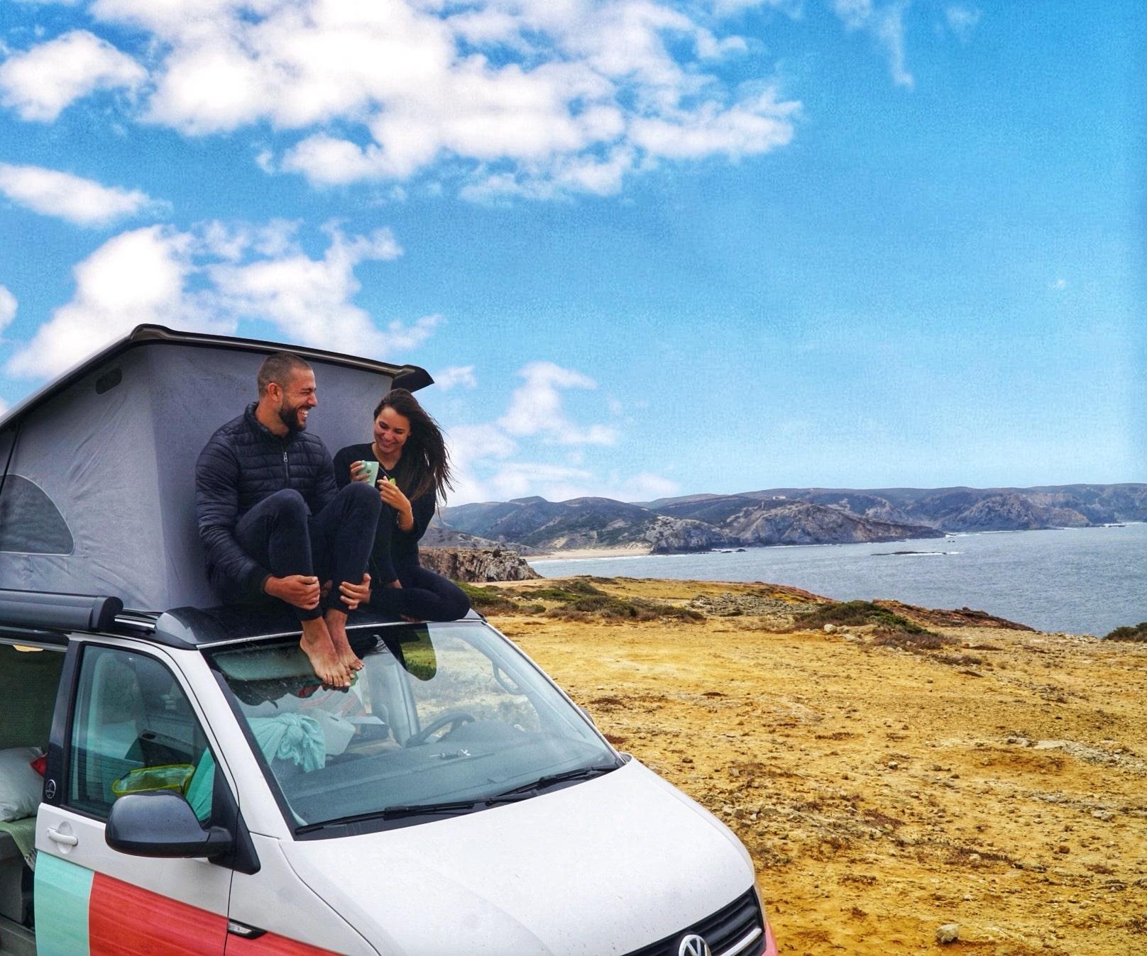 Alquiler de caravanas VW California en Madrid